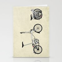 brompton Stationery Cards featuring Brompton Bicycle by Wyatt Design
