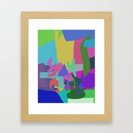 Stay Creative Framed Art Print