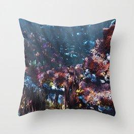 Symbiota Throw Pillow
