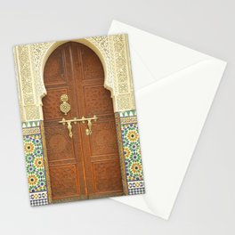 Ornate Moroccan Door Stationery Cards