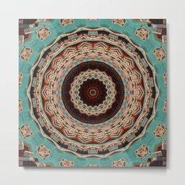 Southwest Mandala Metal Print