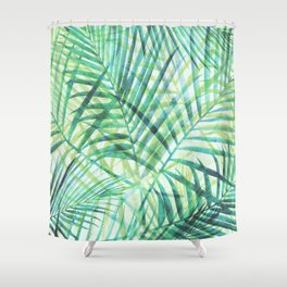 Tropical Greenery III Shower Curtain