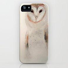 Owl in the fog Slim Case iPhone (5, 5s)