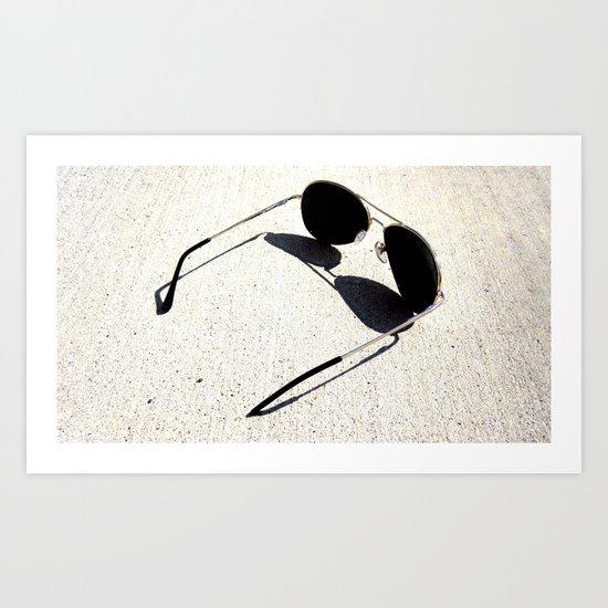 Perfect Shadow Art Print