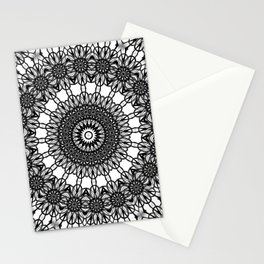 Loops Mandala Stationery Cards