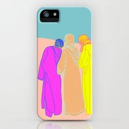 aunties in al hoceima  iPhone Case