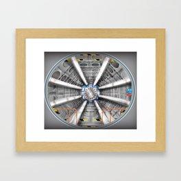 The Large Hadron Collider Framed Art Print