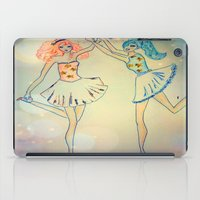 witch iPad Cases featuring witch by Elide G