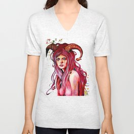 The Aries Unisex V-Neck