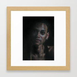 Erica Framed Art Print