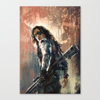 bucky Canvas Prints featuring Bucky by Wisesnail