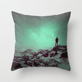 Lost the Moon While Counting Stars II Throw Pillow