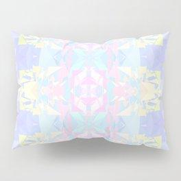 Pastel Triangles 2 Pillow Sham