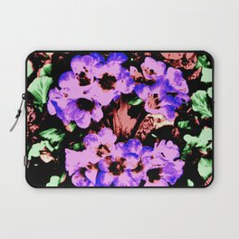 Vintage Purple Wildflower Laptop Sleeve