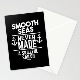 Maritim Sailboat sea boat Stationery Cards