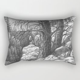Living in the limit Rectangular Pillow