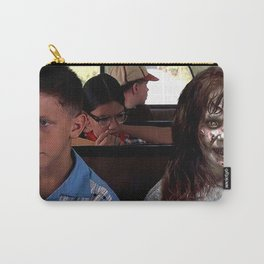 Possessed Regan from The Exorcist and Forrest Gump Carry-All Pouch