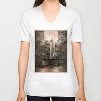 bible verses V-neck T-shirts featuring The Dying Verses 3 by Helheimen Design