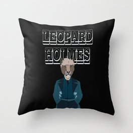 Leopard Holmes Throw Pillow