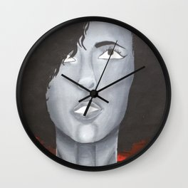Red Skies Wall Clock