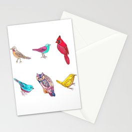 Don't Feed The Birds Stationery Cards