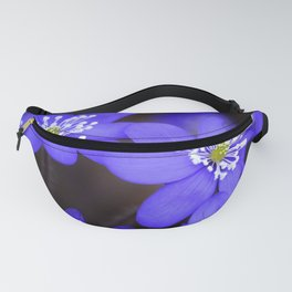 First Spring Flowers in Forest Fanny Pack