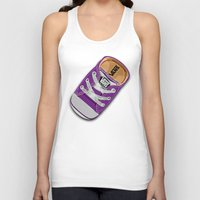vans Tank Tops featuring Cute Purple Vans all star baby shoes apple iPhone 4 4s 5 5s 5c, ipod, ipad, pillow case and tshirt by Three Second