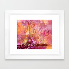 If you love Paris Framed Art Print