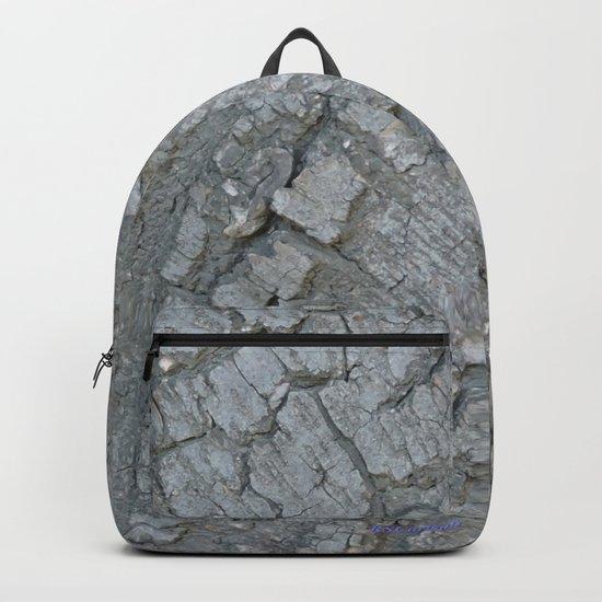 TEXTURES -- California Bay Tree Bark Backpack