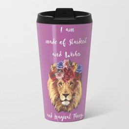 Stardust Lion Travel Mug