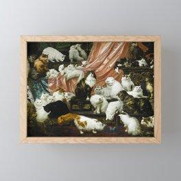 "Carl Kahler ""My Wife's Lovers"" Framed Mini Art Print"