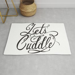 Lets Cuddle Rug