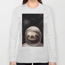 Space Sloth Long Sleeve T-shirt