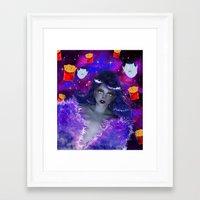 marceline Framed Art Prints featuring Marceline by Sara Eshak
