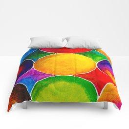 Geometric Brights #2 Comforters