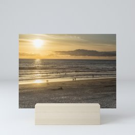 Waiting for the Sun to Set Mini Art Print