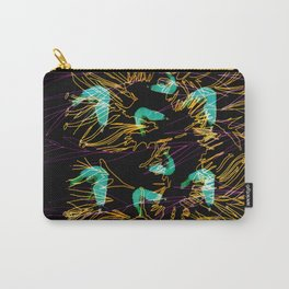 Corals and Crustaceans Burst Carry-All Pouch