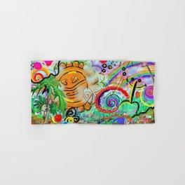 Taino Echoes - Puerto Rico Tribal Ethnic Art Hand & Bath Towel