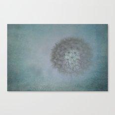 Dandelion Ghost Canvas Print