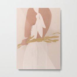 Field Girl Metal Print