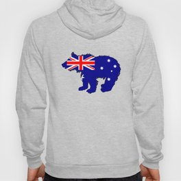 Australian Flag - Bear Cub Hoody