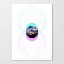 Solar Spheres Canvas Print
