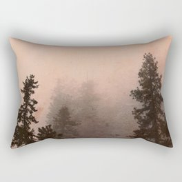 Deep in Thought - Forest Nature Photography Rectangular Pillow