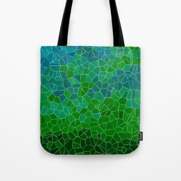 Mosaic Forest Tote Bag