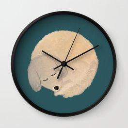 Dog Donut Wall Clock