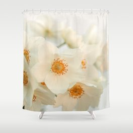Pale Anemone #2 Shower Curtain