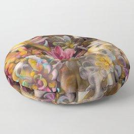 Echeveria Dreams Floor Pillow