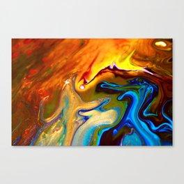 Blue Blue Electric Blue Canvas Print
