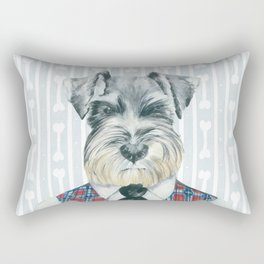 Schnauzer Mc Doogall Rectangular Pillow