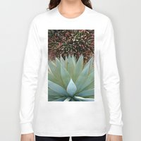 succulents Long Sleeve T-shirts featuring Succulents by Juliette
